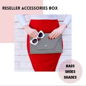 Reseller Box Accessories Bags Shoes Sunglasses 5pc